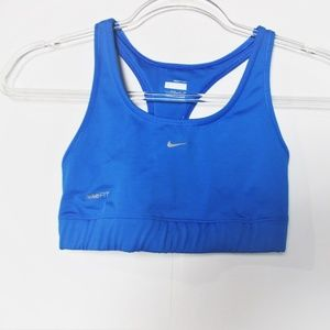 Nike FIT Women's Athletic Workout Sports Bra Top S